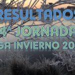 Resultados 4ª jornada VIII Liga Invierno 2020