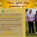 Finalistas Match Play Individual 2019